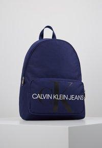 Calvin Klein Jeans - MONOGRAM CAMPUS BACKPACK  - Rucksack - blue - 0