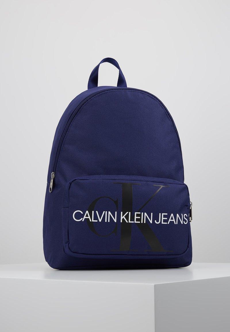 Calvin Klein Jeans - MONOGRAM CAMPUS BACKPACK  - Rucksack - blue