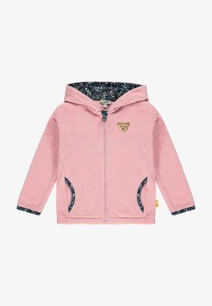 Fleece jacket - pink nectar
