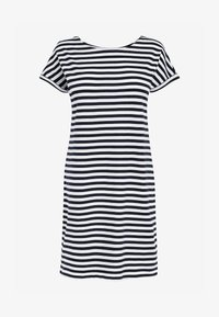 Next - MORRIS & CO. AT NEXT RELAXED CAPPED SLEEVE TUNIC DRESS - Jersey dress - white - 0