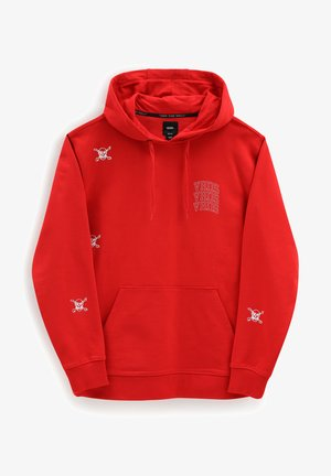 Hoodie - high risk red