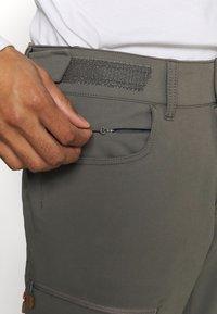 Norrøna - SVALBARD FLEX PANTS - Pantaloni outdoor - dark grey - 5