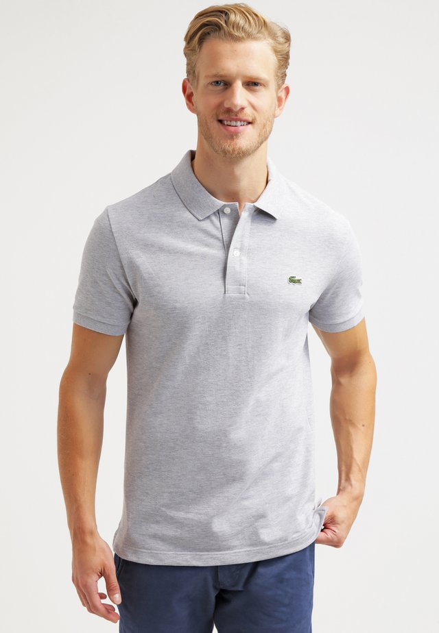 Polo shirt - silver chine