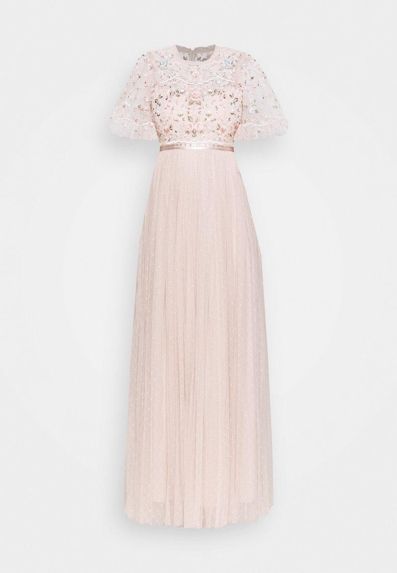 Needle & Thread - REGENCY GARDEN BODICE MAXI DRESS - Ballkjole - pearl rose