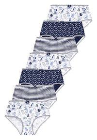 Next - NAVY/WHITE 7 PACK CAT CHARACTER BRIEFS (1.5-12YRS) - Briefs - blue - 0