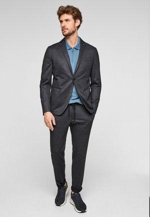 JOGG SAKKO - Blazer jacket - dark grey glencheck