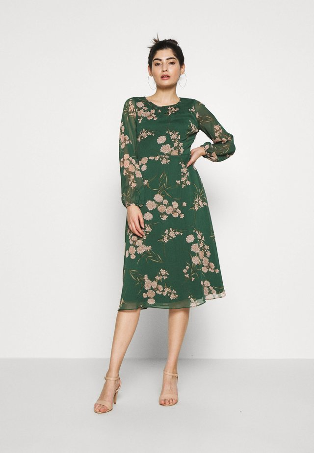 DALIA ORIENTAL DRESS - Day dress - green