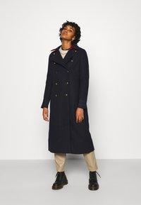 YAS - YASPERFORM COAT - Classic coat - sky captain - 0