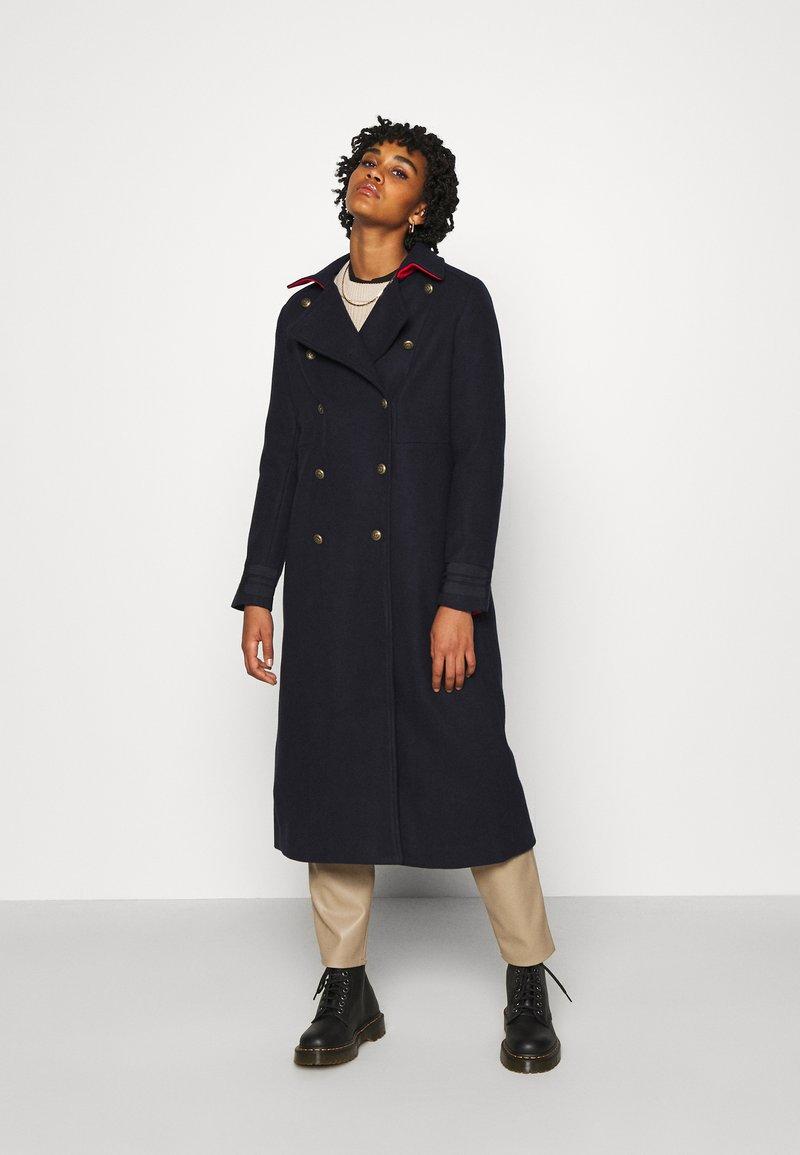 YAS - YASPERFORM COAT - Classic coat - sky captain