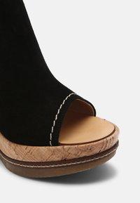 San Marina - ANTALYA - Sandals - noir - 7