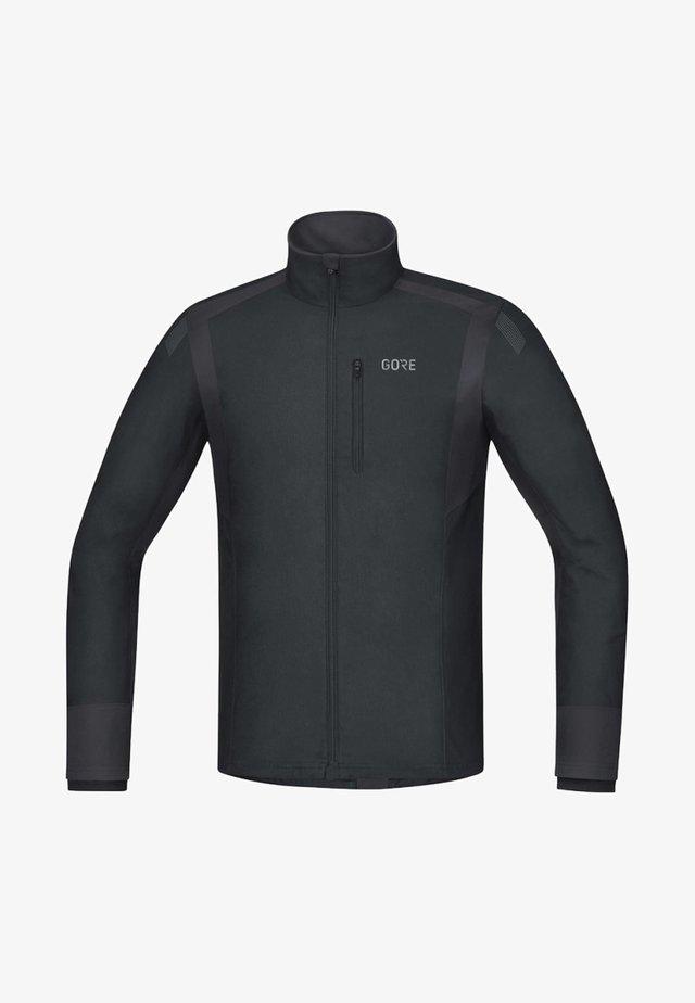 Training jacket - black/grey