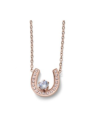 SUERTE STE CZ - Necklace - rosegold