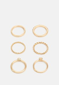 sweet deluxe - FOR EVERY FINGER 6 PACK - Pierścionek - gold-coloured - 1