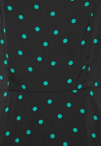 Even&Odd Tall - PUFF SLEEVE MIDI DRESS - Maxi dress - black/green - 2