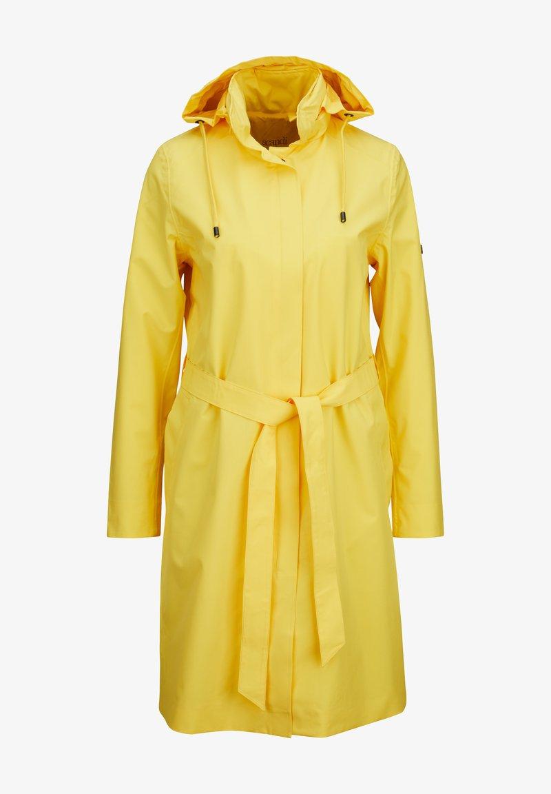 Scandinavian Edition - Winter coat - yellow