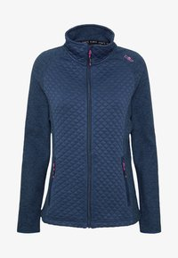 CMP - WOMAN JACKET - Fleecejakker - blue - 4