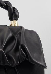Topshop - RUCHED FLAP BACKPACK - Sac à dos - black - 3
