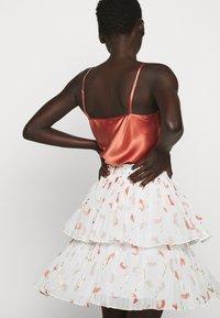 Bruuns Bazaar - ESMINA SKIRT - A-line skirt - brush artwork - 4
