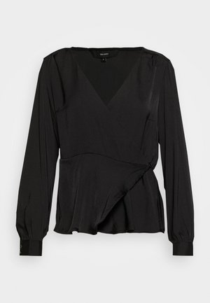 VMKATE WRAP - Blouse - black