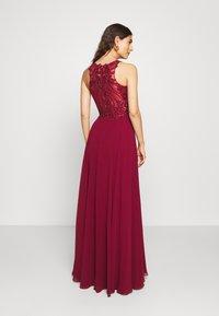 Luxuar Fashion - Společenské šaty - bordeaux - 2