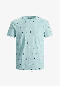 Jack & Jones - Print T-shirt - light blue - 5
