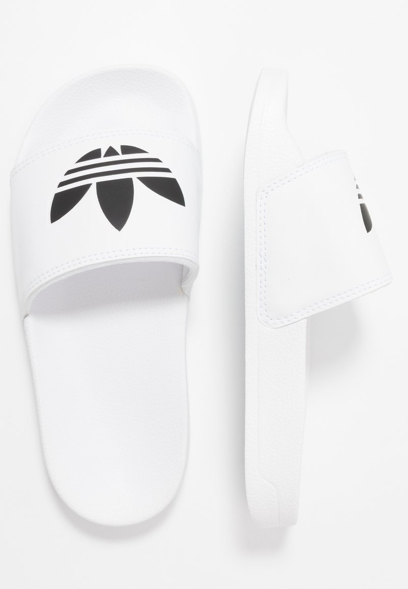 adidas Originals - ADILETTE LITE - Pantofle - footwear white/core black