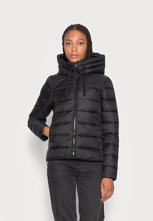 SP, RECYCLED NO DOWN,  RECYCLED, FIX HOOD, WELT POCKET - Light jacket - black