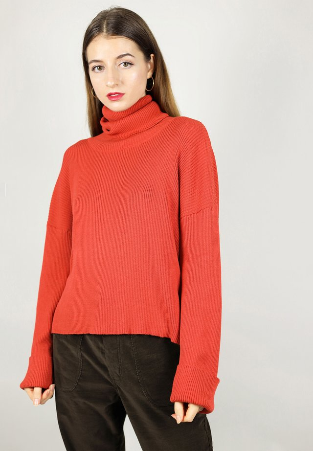 TURTLENECK - Neule - orange