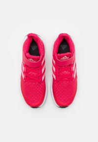 adidas Performance - RAPIDARUN UNISEX - Neutral running shoes - power pink/glory pink/core black - 3