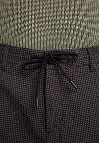 Sisley - Trousers - mottled dark grey - 5