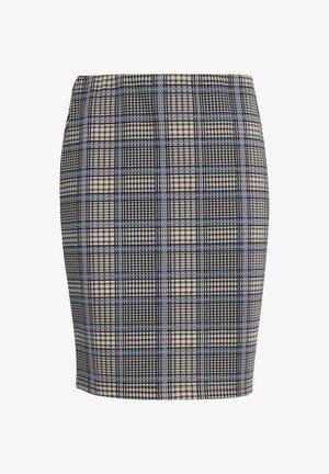 Pencil skirt - della robbia blue mix