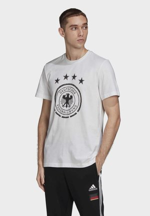 DFBDNAGR DFB GRAPHIC - Print T-shirt - white