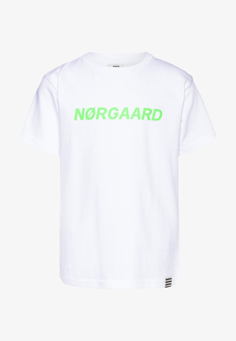 Mads Nørgaard - PRINTED TEE THORLINO - T-shirts print - white