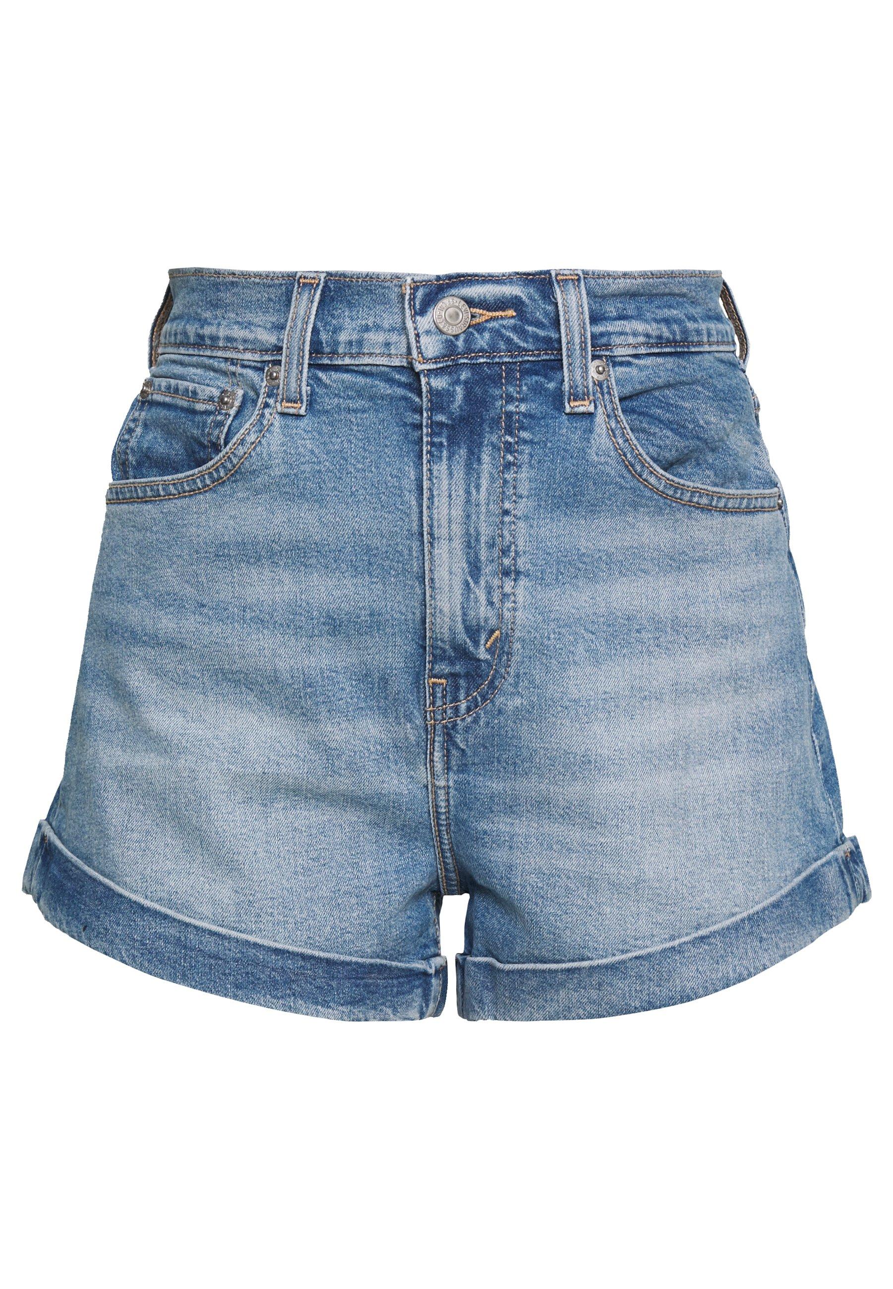 MOM A LINE Shorts vaqueros bandit blue