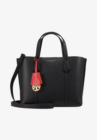 Tory Burch - PERRY SMALL TRIPLE COMPARTMENT TOTE - Kabelka - black