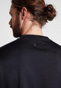 Nike Golf - DRY CREW SWEATER - Club wear - black - 3