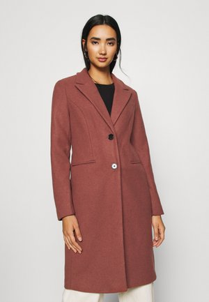 VMBLAZA LONG - Classic coat - mahogany