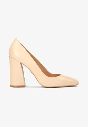 HARLEY - Zapatos altos - beige