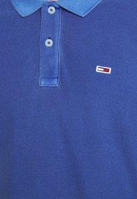 Tommy Jeans - GARMENT DYE - Polo shirt - blue - 4