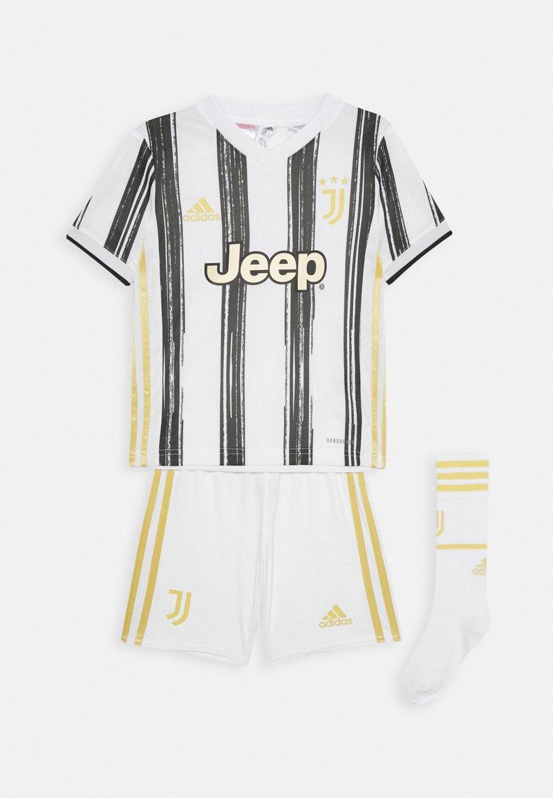 adidas Performance - JUVE MINI UNISEX - Sports shorts - white/black