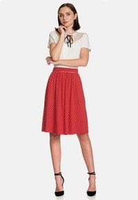 Vive Maria - Monaco  - Pleated skirt - red - 1
