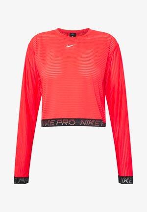 Sports shirt - laser crimson/black/metallic silver