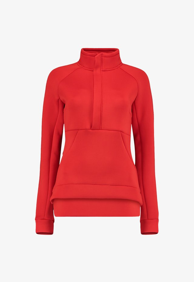 Sweat polaire - fiery red
