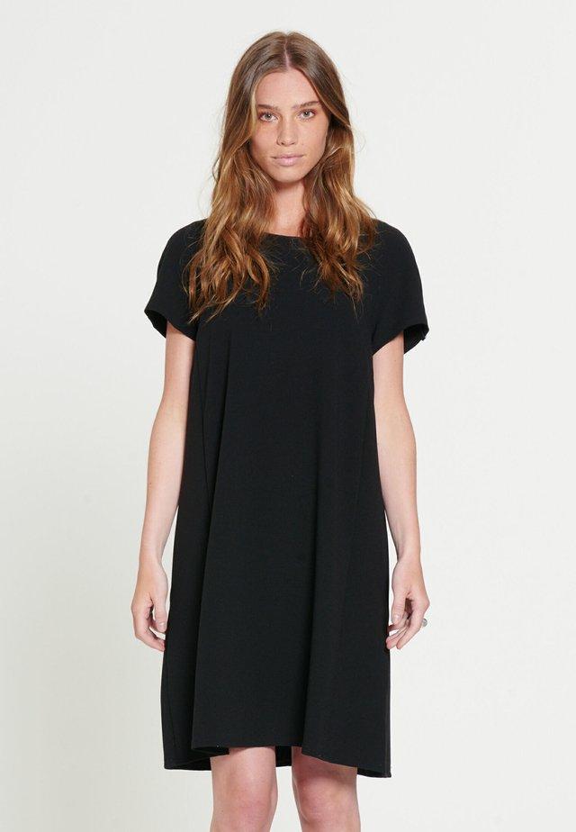 SIMONE - Vestito di maglina - black
