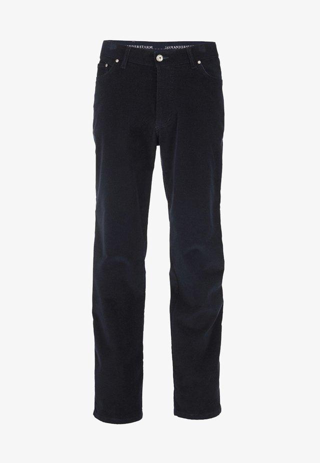 TJELVAR - Trousers - navy