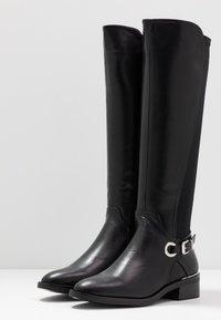 Dorothy Perkins - KIKKA FORMAL RIDING BOOT STRETCH BACK - Boots - black - 4