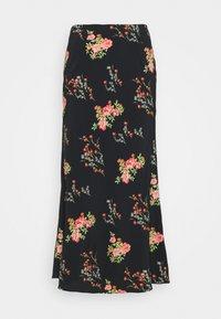 Glamorous Tall - LADIES SKIRT FLORAL - A-line skirt - black/pink - 0