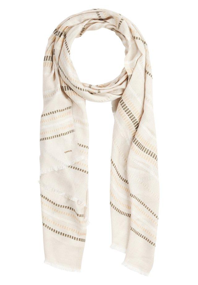 MIT WEBMUSTER - Scarf - khaki stripes