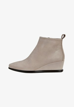 SHAPE WEDGE - Ankle boots - grey rose