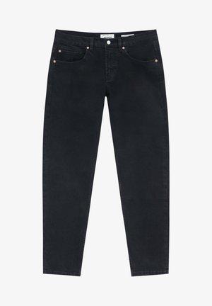 Straight leg -farkut - mottled black